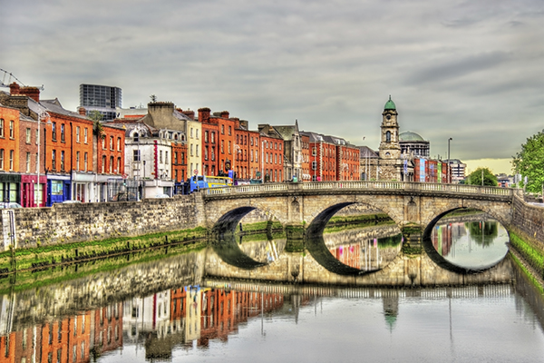 Mellows Bridge Dublin Ireland