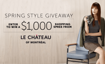Le Château $1K Shopping Spree Giveaway