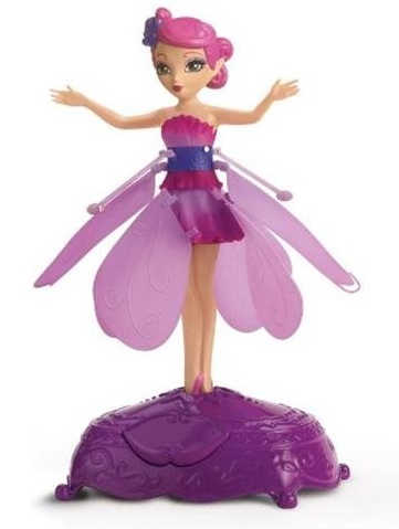 Purple fairy flutterbye toy
