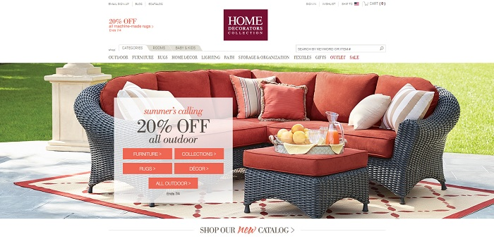 Home Decorators Collection homepage