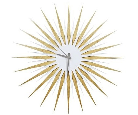 Starburst Modern Wall Clock