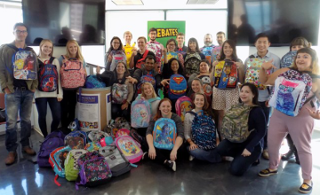 Ebates CARES: Back to School Backpack Drive