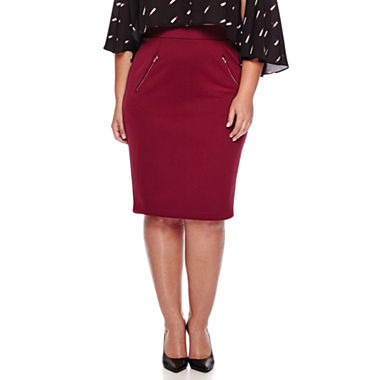 Quilted Pencil Skirt
