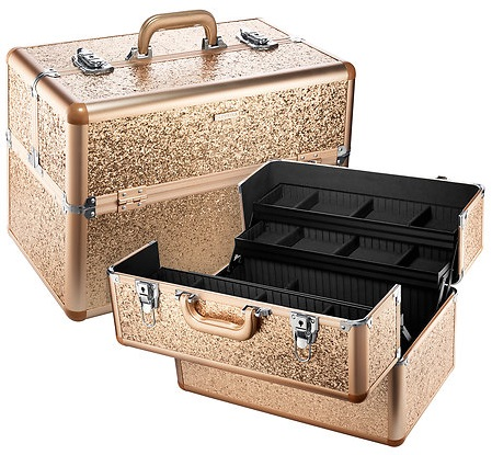 SEPHORA COLLECTION Sparkle & Shine XL Traincase, $145