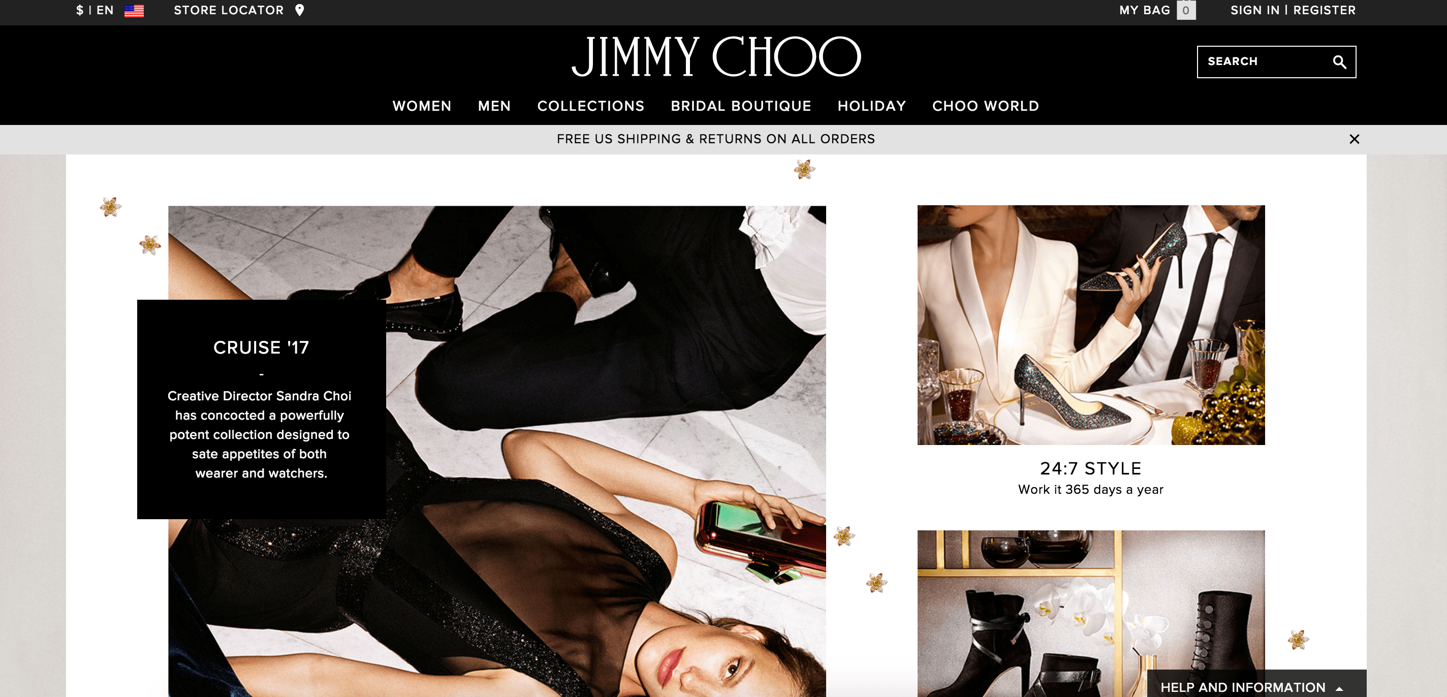 Jimmy Choo Coupons & Cash Back