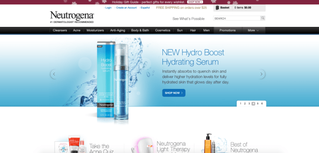 Neutrogena Coupons & Cash Back