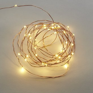 Copper Spring 21 Line Lights Decor for New Year's Eve Party