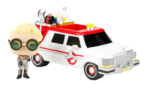 Funko Ghostbusters Ecto-1 With Holtzman