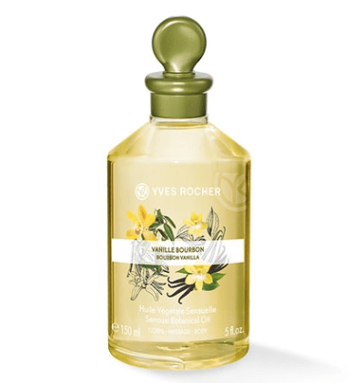 Sensual Botanical Oil – Body & Massage - Bourbon Vanilla