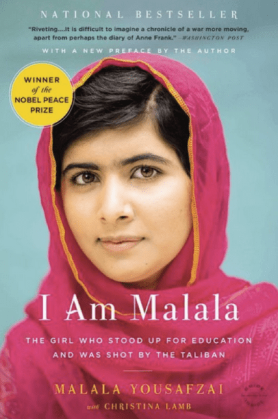 I am Malala by Malala Yousafzai International Women's Day