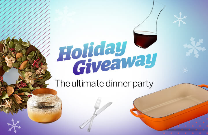 Facebook Live Giveaway: The Ultimate Dinner Party
