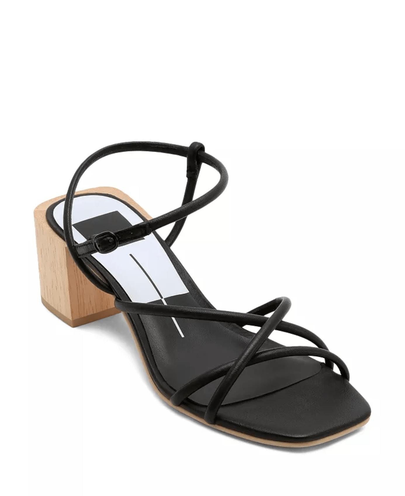 Dolce Vita Zayla Wooden Block Heel Sandals