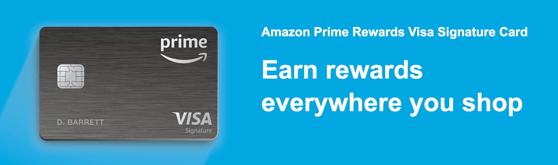 Amazon Visa Rewards Signature Card