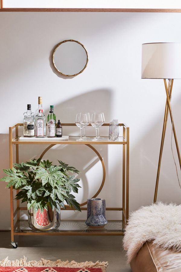 Urban Outfitters Claire Bar Cart