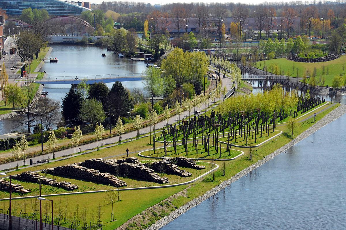 Park Schinkeleilanden Amsterdam  Bomen voor landgoederen