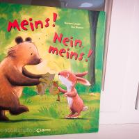 Kinderbuch über's teilen lernen - Meins! Nein meins!