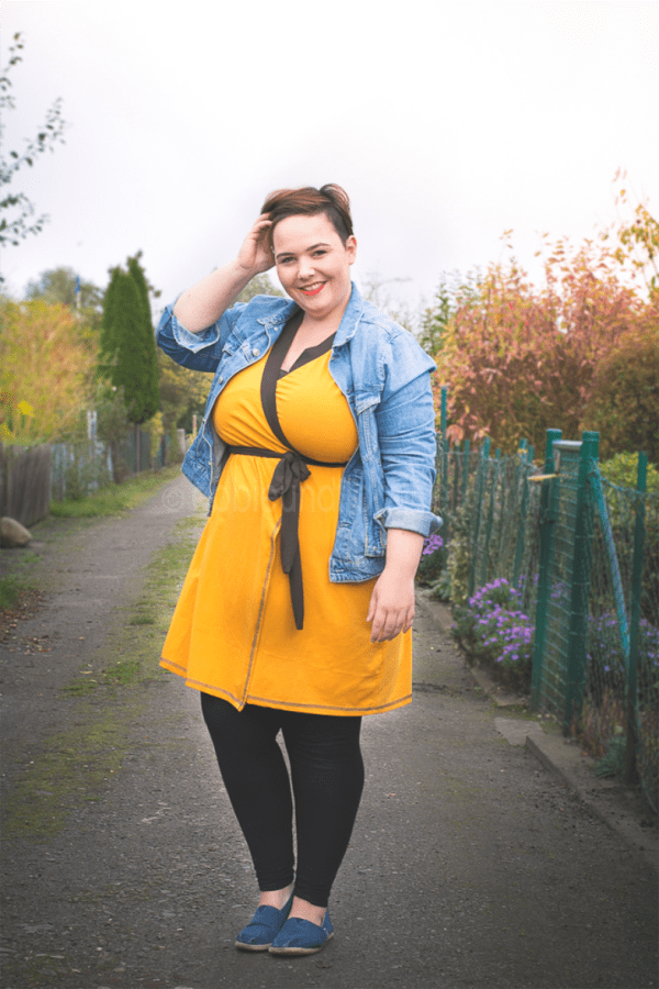 Plus Size Mode - herbstliches Outfit