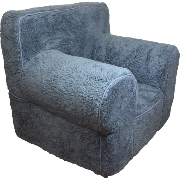 NEW GREY SHERPA COVER FOR POTTERY BARN KIDS ANYWHERE CHAIR REGULAR SIZE   eBay