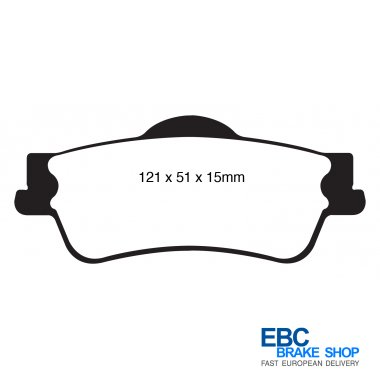 Performance Brake Pads Vehicle Parts & Accessories DP1925