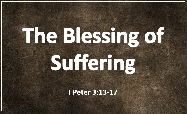 The Blessing of Suffering