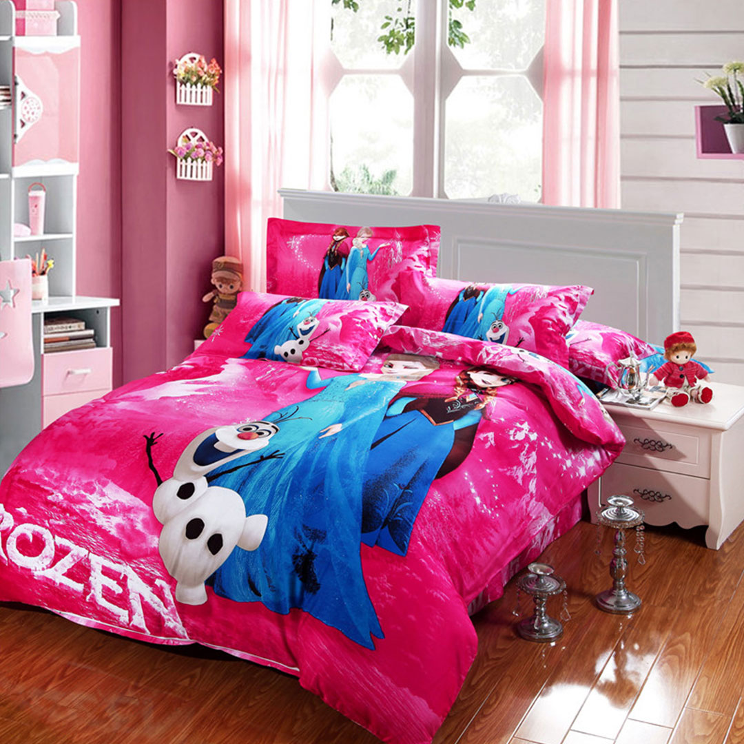 Disney Frozen Queen Size Bedding Set