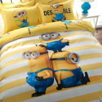 Minion bed sheets set
