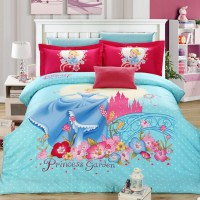 Girls Disney Princess Bedding Set
