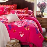 Pink Classic Floral Bedding Set - Style #2 | EBeddingSets