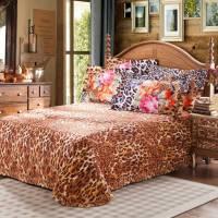 Tiger Coat Classic Floral Comforter Set | EBeddingSets