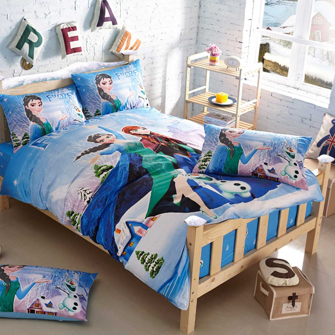sofa bed covers la z boy leather reclining frozen bedding set twin size   ebeddingsets