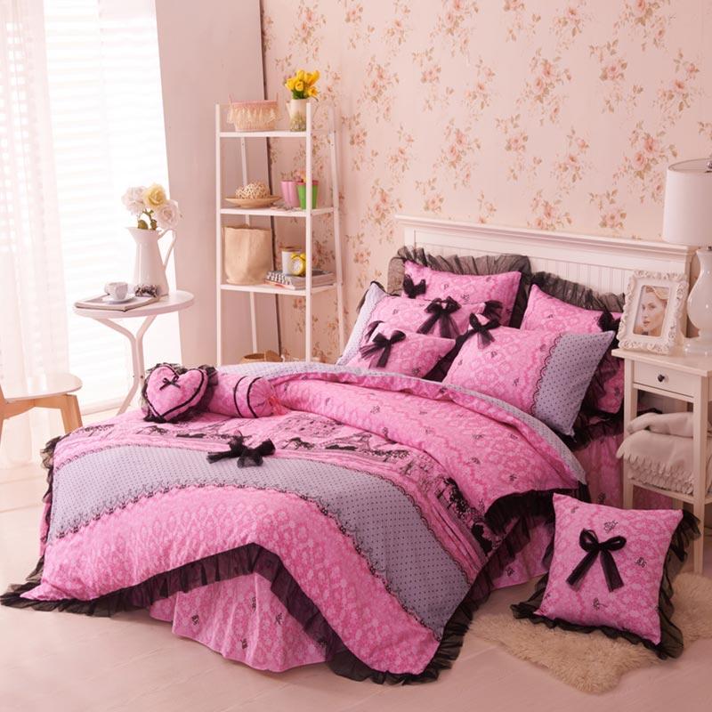 Paris Themed Bedding Set