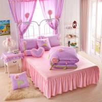 Teen Girl Bedding Set Velvet Fabric