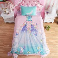 Princess Bedroom Set For Little Girl Pink Bedding ...