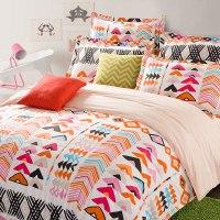 Colorful Aztec Cotton Bedding Set | EBeddingSets
