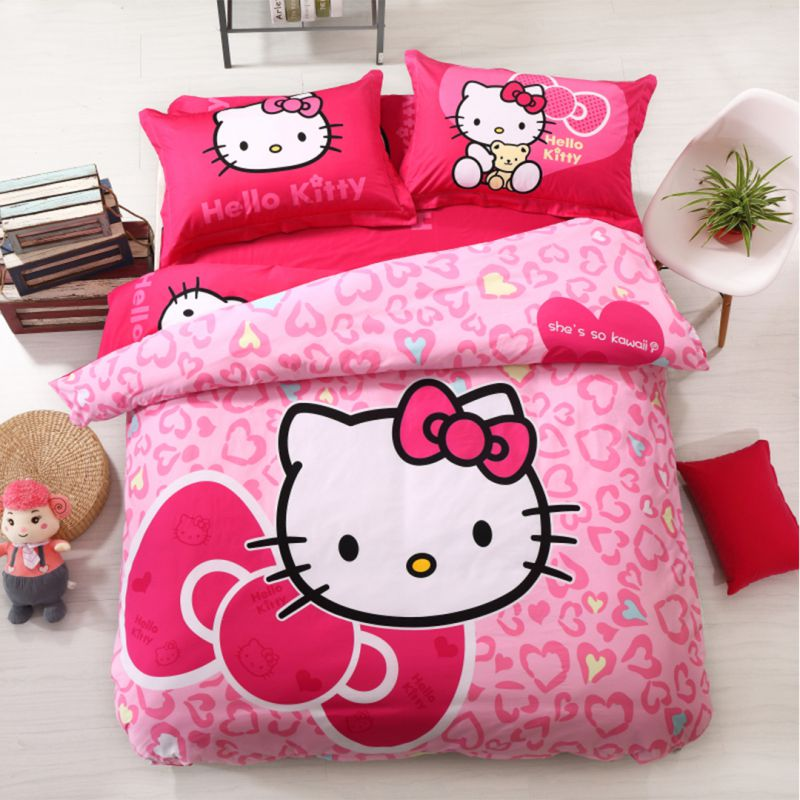 Hello Kitty Bedding Sets Model 16