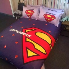 Pink Chair Covers For Sale Waterproof Pads Superman Bedding Set | Ebeddingsets