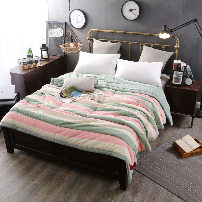 sofa microfiber fabric long cover beautiful pink and aqua washed cotton comforter | ebeddingsets