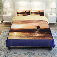 Beautiful Leaping Dolphin Printed Bedding set | EBeddingSets
