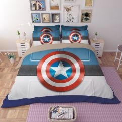 Captain America Table And Chair Set Red Leather Swivel Ikea Shield Bedding Ebeddingsets