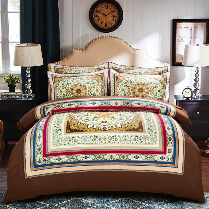 Luxury Patterned Bedding Set