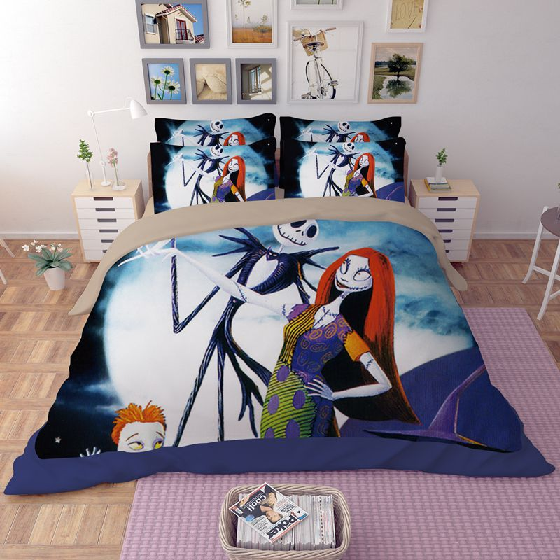 sofa cover blankets washing service the nightmare before christmas bedding set | ebeddingsets