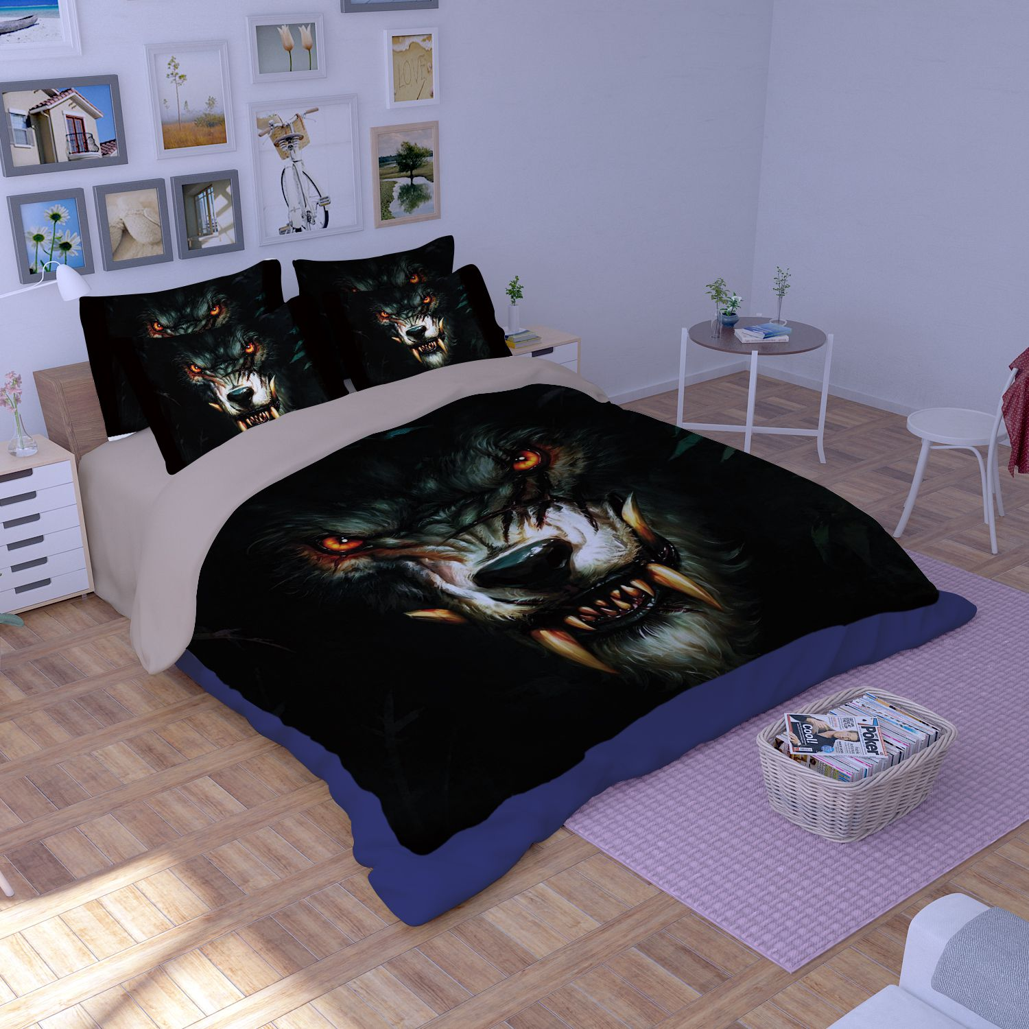 throw covers sofa black and gold set world of warcraft curse the worgen printed bedding ...