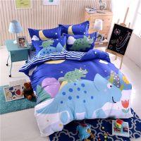 Blue Dinosaur Comforter Set Twin Queen Size SJL