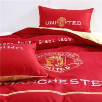 Manchester United F.C Bedding Set Twin Queen Size