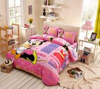 Beautiful Minnie Mouse Bedding Set Twin Queen Size ...