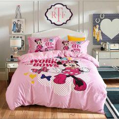 Mickey Mouse Sofa Grey Leather L Shape Disney Minnie Cute Teen Comforter Set | Ebeddingsets
