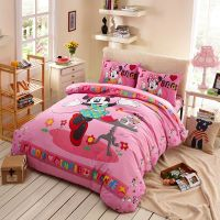 Girls Minnie Mouse Bedding Set Twin Queen Size   EBeddingSets
