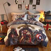 Marvel Super Heroes Teens Bedding Set Twin Queen Size ...