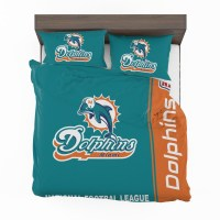 Buy NFL Miami Dolphins Bedding Comforter Set