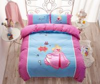Sleeping Beauty Princess Aurora Embroidery Bedding Set ...